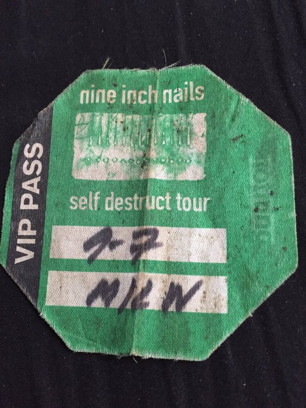 Nine Inch Nails Live Archive: NIN, September 07, 1994, Milwaukee, WI ...