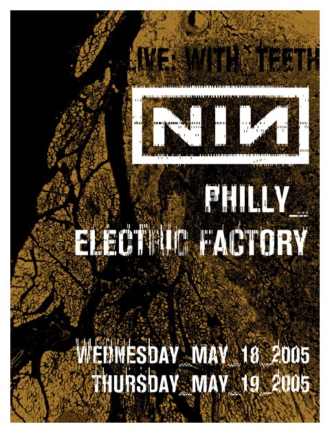 Electric Factory 2005 Poster