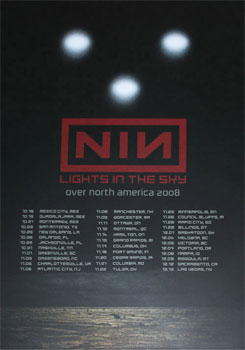 Lights In The Sky Tour Leg 2 Poster