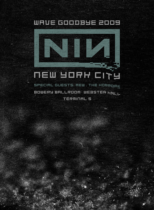 Nine Inch Nails Live Archive: NIN, August 23, 2009, New York, NY ...